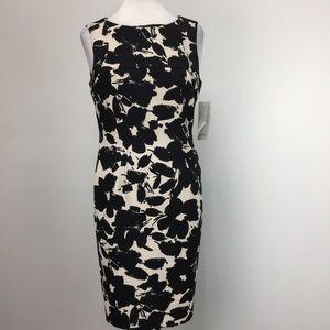 NWT Kasper The Perfect Sheath Floral Dress